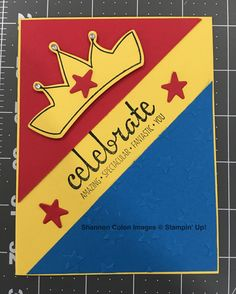 Wonder Woman Card using Biggest Birthday Ever. Check out today's blog post for products and video!