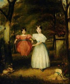 The Swing by Arthur William Devis (c) Museums Sheffield; Supplied by The Public Catalogue Foundation