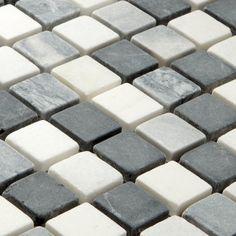 Mosaic Tiles Marble Black Mix 23x23x8mm Marble Mosaic, Stone Mosaic, Mosaic Tiles, Wall Tiles, Terrace Tiles, Patio Tiles, Exterior Tiles, Interior And Exterior, Detail Shop