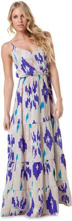 EIGHT SIXTY CANYON IKAT MAXI DRESS