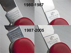 Victorinox stampings - www.sakhome.com