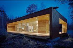 une maison en bois non kitch