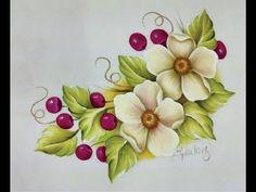 500 Mejores Imagenes De Pintura En Tela Flores En 2019 Flower