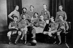 Queen's Park, after winning the inaugural Scottish FA Cup in 1874