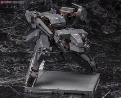 A KOTOBUKIYA Japanese import! The first Metal Gear Solid game was released on PlayStation in 1998 and featured stealth action as directed by Hideo Ko Metal Gear Rex, Metal Gear Solid, Plastic Model Kits, Plastic Models, Japanese Imports, Mechanical Design, Gundam, Gears, Star Wars