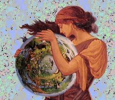 Gaia - Greek goddess of the Earth - great mother of all things