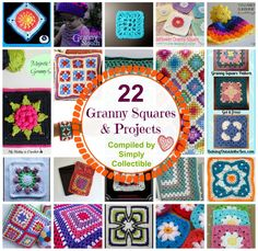 22 Granny Squares and Projects