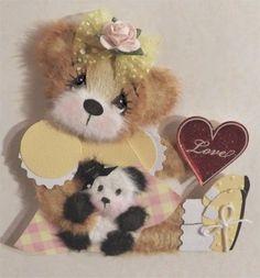 tear bear with baby panda tear bear