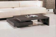 Mesa de Centro minimalista, mdf, laca.