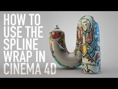 (7) HOW TO USE THE SPLINE WRAP IN CINEMA 4D | QUICK TIP - YouTube