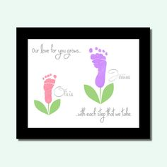 Christmas Gift from Grandkids New Grandma by PerfectLittlePrints (Diy Gifts For Grandparents)
