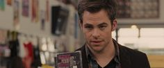 """Sam (Chris Pine) emerges as a """"cool"""" uncle with his knowledgeable CD recommendations. -- People Like Us Blu-ray + DVD Review"""