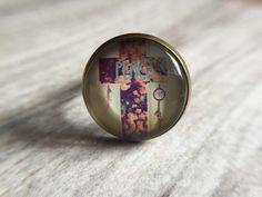 """Ringe - Glasperlen-Ring """"Vintage"""" - ein Designerstück von Soulmate-Works bei DaWanda"""