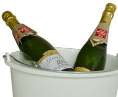 Verrassend Kerstgeschenk: emmer bedrukt met uw logo en gevuld met champagne, www.emmers.nu va.$26