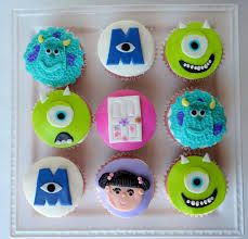 cupcakes de monster inc - Buscar con Google