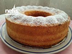 Kremalı Nişastalı Pamuk Kek