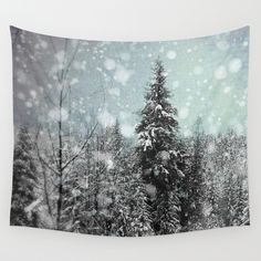 Buy Snow by Pure Nature Photos as a high quality Wall Tapestry. Worldwide shipping available at Society6.com. Just one of millions of products available.