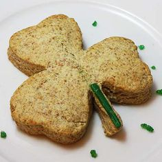St. Patrick's Day - Mangocheek's Shamrock Brown Scones ...   http://www.thedailyspud.com/2010/03/17/st-patricks-day-food-parade/