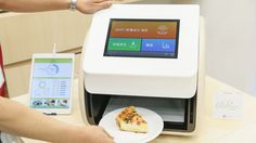 Panasonic's new kitchen contraption will quantify a feast's calories in only 10 seconds