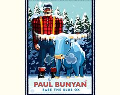 Paul Bunyan by Mark by NumericPress