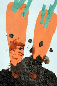 So many excellent Carrot Seed ideas all in one place! Love the muddy carrots idea!
