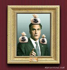 Mitt Romney - Moneybags  :    http://mariopiperni.com/