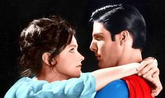 pics of superman lois clark from the movie with christopher reeve and margot kidder Superman Love, Superman And Lois Lane, Superman Film, Original Superman, Superman Stuff, Batman, Christopher Reeve Superman, Clark Kent Lois Lane, Hq Dc