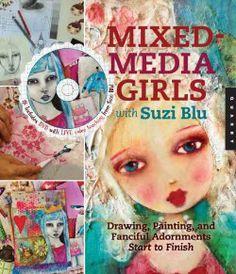 Mixed media girls