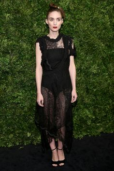11.17.15  Rooney Mara in Givenchy S16 (Look 86) at 8th Annual Modern Museum of Art Film Benefit in NYC