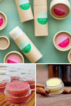 Essential Oil Lip Balm Recipes