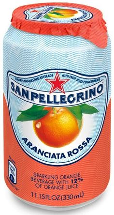 Sanpellegrino Aranciata Rossa--Blood Orange Soda.