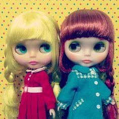 One of my little dream... #blythe #blythedoll #doll #twins - @lorettalammy- #webstagram