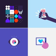 An overview of illustrative work 2010–2017 on Behance