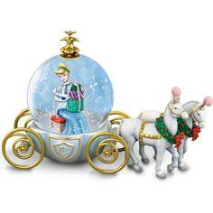 The Bradford Exchange Disney Miniature Cinderella Snowglobe: A Party for A Princess Mickey Mouse Christmas, Disney Christmas, A Christmas Story, Disney Mickey Mouse, Walt Disney, Cinderella Disney, Disney Princess, Disney Dream, Bradford Exchange Disney