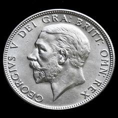 1929 George V Silver Florin, A/BU