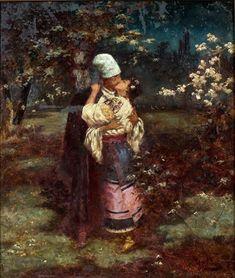 Russian Folk, Russian Art, Composition Painting, Moonlight Painting, Ap Studio Art, Russian Painting, Ukrainian Art, Classic Paintings, Art Music