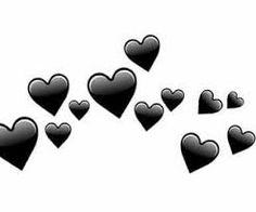 corazones png no fundo preto Overlays Cute, Overlays Tumblr, Picsart Png, Overlays Picsart, Emojis Png, Tumblr Sticker, Episode Backgrounds, Snapchat Stickers, Emoji Wallpaper