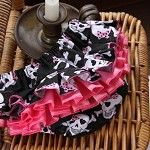 "Baby Ruffle Pants Nappy Cover """"For the little Punk Princess in all of us"""""