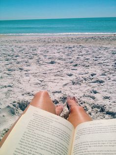 Sun, Sea, Sand and a Book Beach Bum, Summer Beach, Summer Vibes, Summer Aesthetic, Aesthetic Photo, Summer Pictures, Beach Photography, Beach Photos, Picture Video