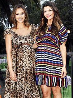 Jessica Alba & Ali Landry