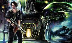 1280x768 free desktop backgrounds for alien isolation