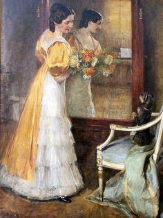 John Quincey Adams - Portrait of Maria Teresa von Moser-Ebreichsdorf Feng Shui Mirrors, Maria Teresa, Great Paintings, Mirror Art, Girl And Dog, Naturally Beautiful, Portrait, Metropolitan Museum, Pastels