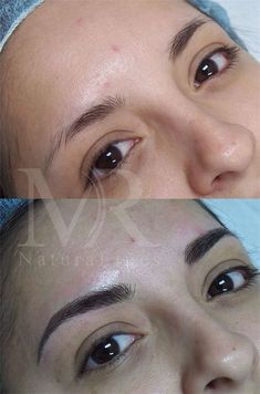 Permanent Make-up By Mary. Natural looking permanent cosmetics! Permanent Makeup Eyebrows, Eyebrow Makeup, Eyebrow Tips, Eyebrow Wax, Eyebrow Shapes, Perfect Eyebrows, Perfect Eyes, Eyebrows Goals, Thin Eyebrows