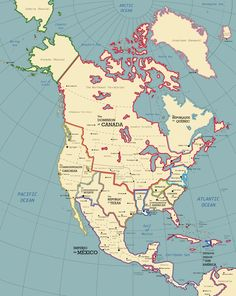 The North American Continent in 1928 A.D. by ~SPARTAN-127 on deviantART