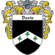 Davis Coat of Arms   namegameshop.com has a wide variety of products with your surname with your coat of arms/family crest, flags and national symbols from England, Ireland, Scotland and Wale