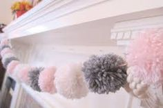 Image result for pom pom garland