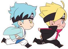 Naruto - Boruto Uzumaki x Mitsuki - BoruMitsu