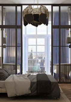 Contemporary Bedroom by Julia Yakovleva - Russia by Koket