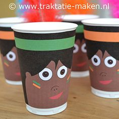 indians paper cup #indians #birthday #party #decoration #printable #free