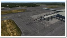 FSX Download Mega Airport Oslo V2.0 Free Airports, Oslo, The Expanse, Dublin, Country Roads, Free, Travel, Viajes, Traveling